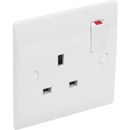 13A Socket Single